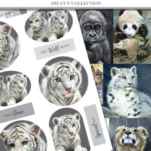 Pollyanna Pickering The Next Generation Die Cut Toppers and Sentiments Collection