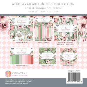 The Paper Boutique Forest Blooms 6″ x 6″ Paper Pad