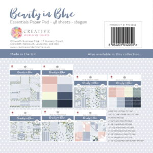 The Paper Tree Beauty in Blue Essentials Paper Pad