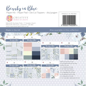 The Paper Tree Beauty in Blue Paper Kit + Tags