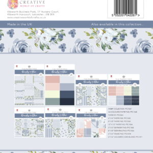 The Paper Tree Beauty in Blue Insert Collection
