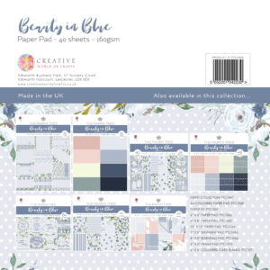 The Paper Tree Beauty in Blue 12″ x 12″ Paper Pad