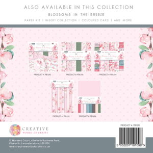The Paper Boutique Blossoms in the Breeze 8″ x 8″ Paper Pad