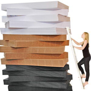 The Paper Mountain – 1500 Sheets