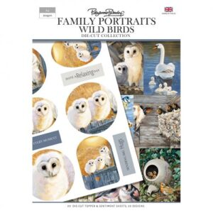 Pollyanna Pickering Family Portraits – Wild Birds Die Cut Toppers and Sentiments Collection