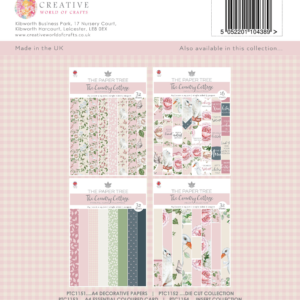 The Paper Tree The Country Cottage A4 Decorative Papers