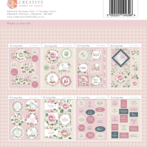 The Paper Tree The Country Cottage A4 Die Cut Collection