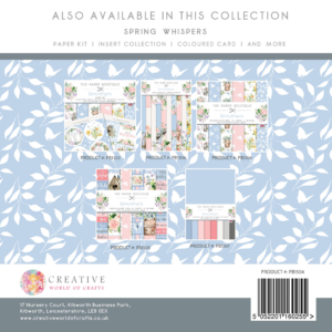 The Paper Boutique Spring Whispers 8″ x 8″ Paper Pad