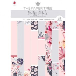 The Paper Tree Pretty Petals A4 Insert Collection