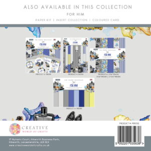 The Paper Boutique For Him 6″ x 6″ Paper Pad