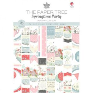 The Paper Tree Springtime Party A4 Die Cut Collection
