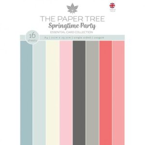 The Paper Tree Springtime Party A4 Essential Coloured Card
