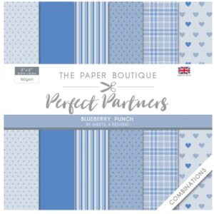 The Paper Boutique Perfect Partners 8″ x 8″ Pad – Blueberry Punch