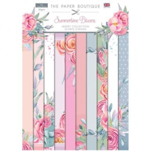 The Paper Boutique Summertime Blooms – Insert Collection