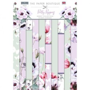 The Paper Boutique Pretty Poppies – Insert Collection