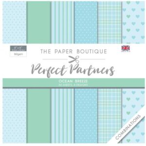 The Paper Boutique Perfect Partners 8″ x 8″ Pad – Ocean Breeze