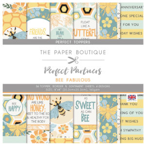 The Paper Boutique Perfect Partners Bee Fabulous – Perfect Toppers