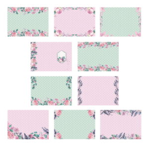The Paper Boutique A Garden in Provence Insert Collection
