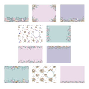 The Paper Boutique Birds of a Feather Insert Collection