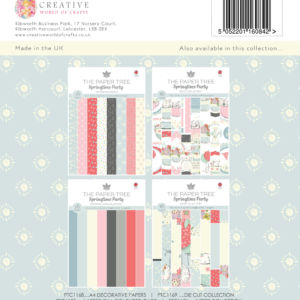 The Paper Tree Springtime Party A4 Decorative Papers