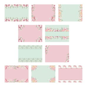 The Paper Boutique Tranquil Gardens Insert Collection