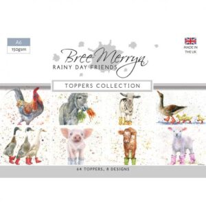 Bree Merryn Rainy Day Friends A6 Toppers