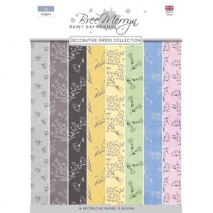 Bree Merryn Rainy Day Friends A4 Decorative Papers