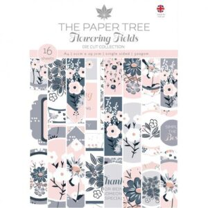 The Paper Tree Flowering Fields A4 Die Cut Collection
