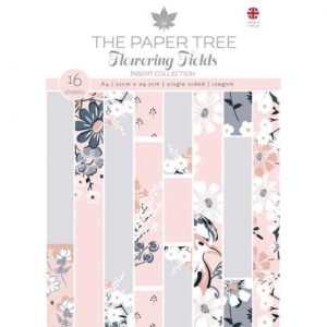 The Paper Tree Flowering Fields Insert Collection A4 Inserts
