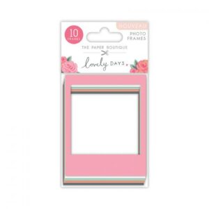 The Paper Boutique Lovely Days Photo Frames