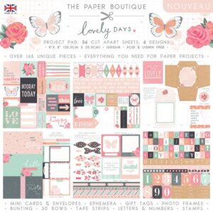 The Paper Boutique Lovely Days Project Pad