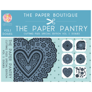 The Paper Pantry Special Edition Cutting Files Doilies Vol. I