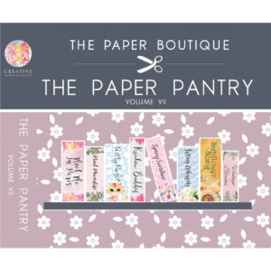 The Paper Pantry Vol. VII USB
