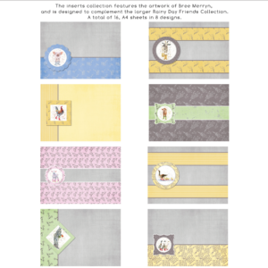 Bree Merryn Rainy Day Friends Inserts Collection