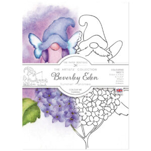The Paper Boutique Artists' Collection – Beverley Eden – Summer Gnomes Colour Me Topper