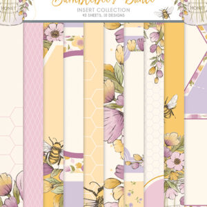 The Paper Boutique Bumblebee's Dance Insert Collection