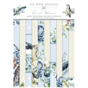 The Paper Boutique Floral Waves Insert Collection