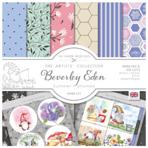 The Paper Boutique Artists' Collection – Beverley Eden – Summer Gnomes Paper Kit
