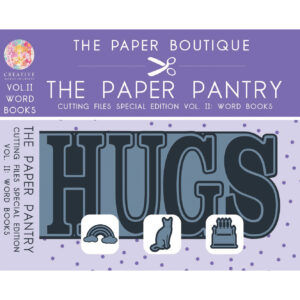 The Paper Pantry Special Edition Cutting Files Vol. II Word Books USB