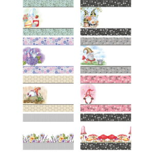 The Paper Boutique Artists' Collection – Beverley Eden – Summer Gnomes Inserts