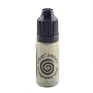 Cosmic Shimmer – Biodegradable Twinkles – Bright Gold 10ml