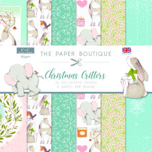 The Paper Boutique – Christmas Critters – Decorative Papers PDF Download