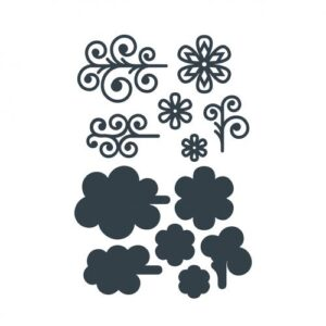 The Paper Boutique Filigree Fancy –  Embellishments Cutting Dies