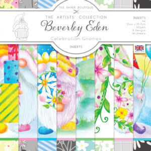 The Paper Boutique Artists' Collection – Beverley Eden – Celebration Gnomes Insert Collection – Available 31st July