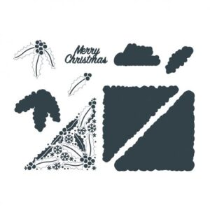 The Paper Boutique Winter Wonder – Merry Christmas Cutting Dies