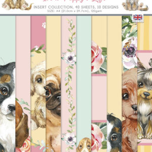 The Paper Boutique It's A Puppy's Life Insert Collection
