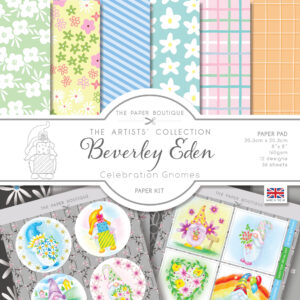 The Paper Boutique Artists' Collection – Beverley Eden – Celebration Gnomes Paper Kit