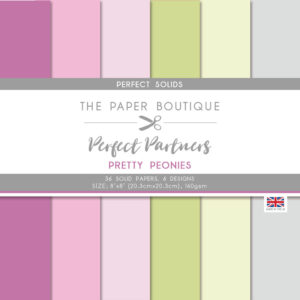 The Paper Boutique Pretty Peonies Solid Colours Pad