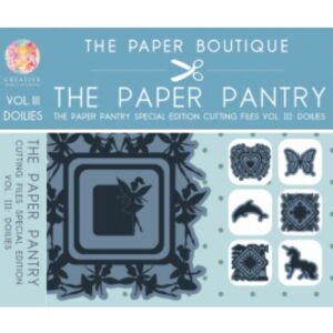 The Paper Pantry Special Edition Cutting Files Vol. III USB