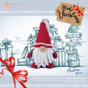 Knitty Critters – Christmas Critters – Crimbo the Gnome
